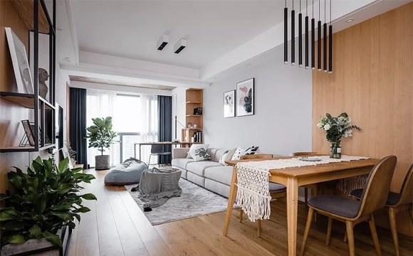 客厅90平装修效果图,最爱简约风